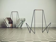 On my wishlist: (several) magazine racks