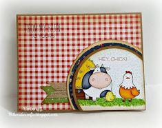 Kimberly's Crafty Spot: Card Harmony- The Whole Herd by MFT