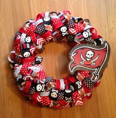 Football season is right around the corner! Tampa Bay Buccaneer's Football 'Fire The Cannons' 16 by OohLaLlew, $55.00