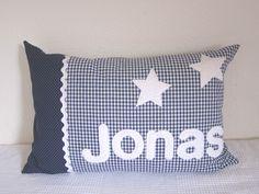 Namenskissen JONAS personalized kids cushions