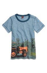 Tea Collection 'Rituraj Tractor' Graphic Tee (Toddler Boys & Little Boys)
