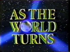 As The World Turns (1956-2010) is yet another serial I grew up watching. Oakdale, like Springfield, will always have a special place in my heart.