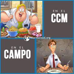 En el CCM y en el campo