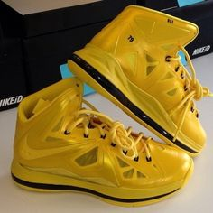 brand new 2f148 54e3c First look at the Honey Nut Cheerios x Nike LeBron X Must be the Honey  edition, part of the new Nelly-starring campaign for the cereal.