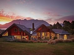 Valhalla , Luxury House in Queenstown & Lakes, New Zealand Us Forest Service, Luxury Accommodation, House In The Woods, Ideal Home, Great Rooms, Skiing, House Styles, Golf Courses, Golf Tips