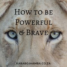 How to be Powerful and Brave Black Girls Power, Girl Power, Becoming A Better You, How To Become, Powerful Quotes, Love You More, How To Better Yourself, Personal Development, Self Love