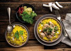 Kokosreis mit Chili-Huhn Rezept Chili, Currys, Ethnic Recipes, Food, Spice, Chicken, Recipe, Food Food, Chile