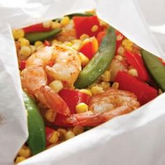 7.19 Five-Spice Shrimp & Vegetable Packets Recipe...delicious and easy, will definitely make again soon!