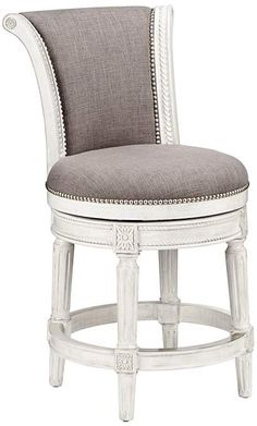 Perfect chair for vanity setting. Regal and classic