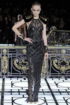 Atelier Versace Spring Couture 2013 - Slideshow - Runway, Fashion Week, Reviews and Slideshows - WWD.com