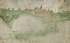 Tripoli, Libya, 17th Century.  Esther Kofod THE LIBYAN www.estherkofod.com