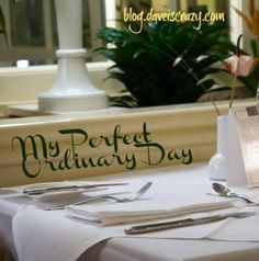 My Perfect Ordinary Day