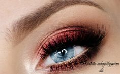Blue-eyed beauties, go for cranberry!
