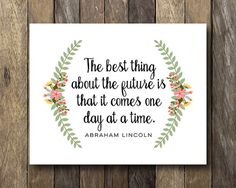 Abraham Lincoln Quote Instant Download Wall by TheLionAndTheLark