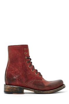 Freebird Charlie Boot from Nasty Gal.  Just the right amount of grunge and the right amount of structure.  Great color, too