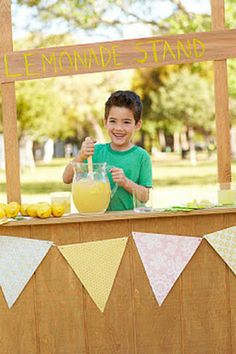 Yoga for kids: When life gives you lemons, host a good karma lemonade stand to raise funds for an important cause.