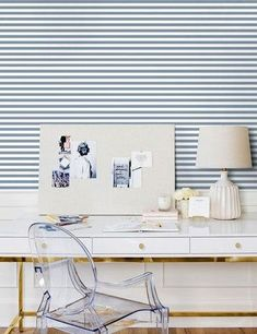 Where to Buy Wallpaper Online: 12 Great Sources | Caroline on Design Where To Buy Wallpaper, Buy Wallpaper Online, Trending Decor, Home, Striped Wallpaper, Pattern Wallpaper, Living Room Shop, Inspirational Wallpapers, Bright White Background