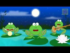 Crazy Dancing Frogs Singing Happy Birthday Especially for You - YouTube