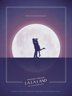"""La La Land"" inspired poster by Christopher Conner Vintage Movies, Vintage Posters, La La Land Art, Damien Chazelle, Image Deco, Film Poster Design, Plakat Design, Film Inspiration, Alternative Movie Posters"