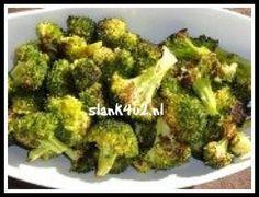 Geroosterde broccoli met knoflook en citroen - Slank4u2