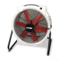 White Industrial Floor Fan