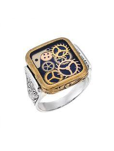 Δαχτυλίδι Ανδρικό Ασημένιο 925 Δίχρωμο Αναφορά 022262 Ένα πανέμορφο ανδρικό δαχτυλίδι που μπορείτε να χαρίσετε στον αγαπημένο σας κατασκευασμένο από Ασήμι 925 σε χρώμα λευκό και κίτρινο.Το μέγεθος του μπορεί να προσαρμοστεί στο νούμερο της αρεσκείας σας.