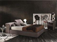 J Tati Fabric Storage Platform bed