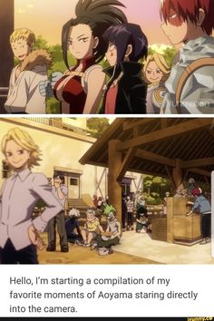 hOLY H ECK《of course aoyama knows where the cameras are at all times.