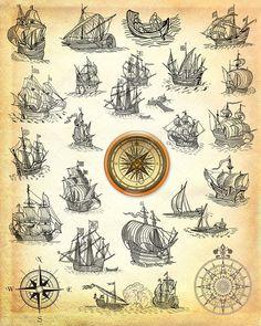 depositphotos_11940611-Old-pirate-map.jpg (818×1023)