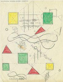 Hilla Rebay, nonobjective art diagrams, n.d.