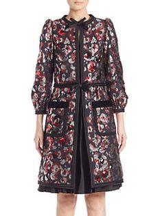 Marc Jacobs - Flower Sequin Coat