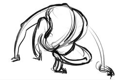 #Figuredrawing with FORCE Quick pose- model always reminded me of a gorilla.  http://www.drawingforce.com/