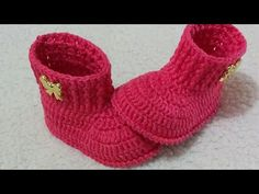 Crochet Baby Boots, Crochet Baby Sandals, Knit Baby Booties, Crochet Baby Clothes, Baby Patterns, Crochet Patterns, Crochet Video, Cutwork Embroidery, Crochet Crop Top