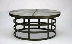 Výsledek obrázku pro recycled metal tables