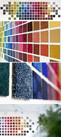 Showroom #Balsan - #Paris #Marais #showroom #design #interior #interiors #decor #decoration #ideas #color #carpet #modern #creativity #flooring #floors #artistic #inspiration #textile #pattern #home #hotel #office #architects