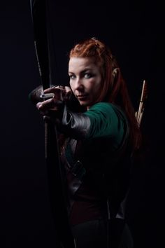 Tauriel, from The Hobbit. Photos by Cynthia Veekens, cosplay by Linda v. P.