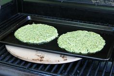 Kalyn's Kitchen®: Zucchini Crust Vegetarian Pizza Margherita Recipe - On the Grill or In the Oven (Low-Carb, Gluten-Free)
