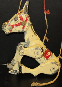 Muffin the Mule This was my very favourite toy in the 50's