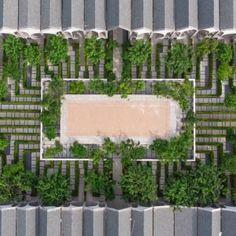 Hotel Labaris Khaoyai « Landscape Architecture Platform   Landezine Hotel Sites, Valley Of Flowers, Green Trees, Aerial View, Hotels And Resorts, Landscape Architecture, Stepping Stones, Outdoor Decor, Platform