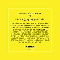 #CorredorLiterario #CronicaDeCarrera #2 #RNRHalfMarathon #MexicoCity