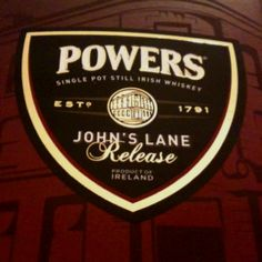 Powers - John's Lane Release. Single Pot Still Whiskey