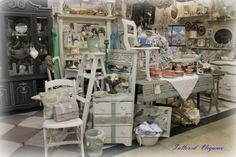 Antique Booth Display Ideas | ok here is my booth at a unique house antique mall booth 33
