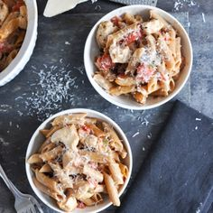 30 Minute Baked Chicken Penne - Add this recipe to your meal plan. get.ziplist.com/clipper