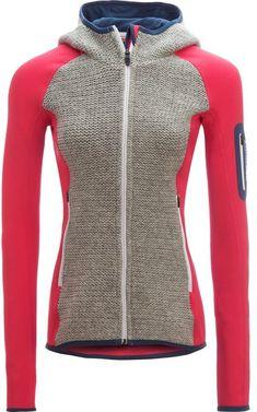 Ortovox Fleece Plus Knit Hooded Jacket - Women s Snowboard-stil 2fed38b4c