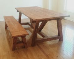 Ana White | DIY RH Dining Table - DIY Projects
