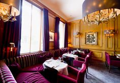 La Brasserie de la Villa Lorraine, Brussels. The slightly more laid-back cousin of the two-star Villa Lorraine offers you fantastic dishes in a relaxed environment and for an affordable price. Classic french cuisine carefully updated.
