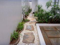 Petit jardin moderne visite d'oasis en 55 photos