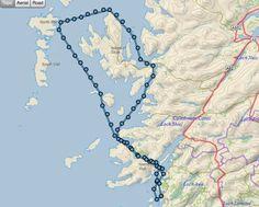 Unsere diesjährige (2015) Route führt von Craobh Haven über Oban, Tobermory, Isle of Skye auf die Äußeren Hebriden und wieder zurück.
