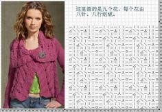 no pattern directions, just stitch pattern
