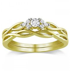 nice The Yellow Gold Wedding Ring Sets, Way to Buy It?